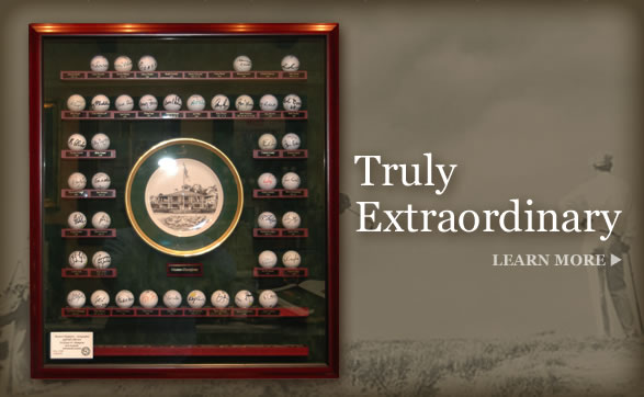 Masters Champions Autographed Golf Ball Collection