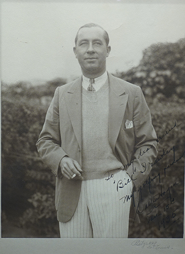 other golf legends autographed  hagen  walter
