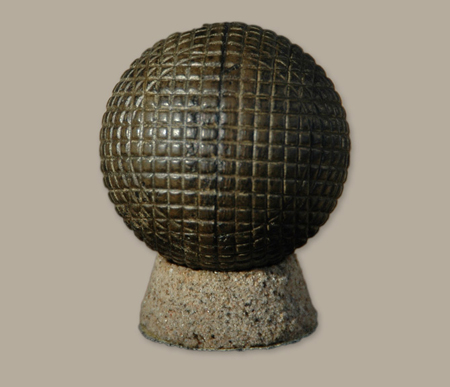 Gutta Percha Golf Ball Silver Town Gutta Percha Golf