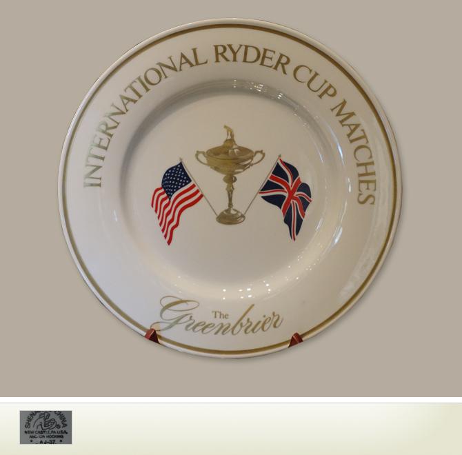 Collectibles Golf Ceramics 1979 Ryder Cup Plate