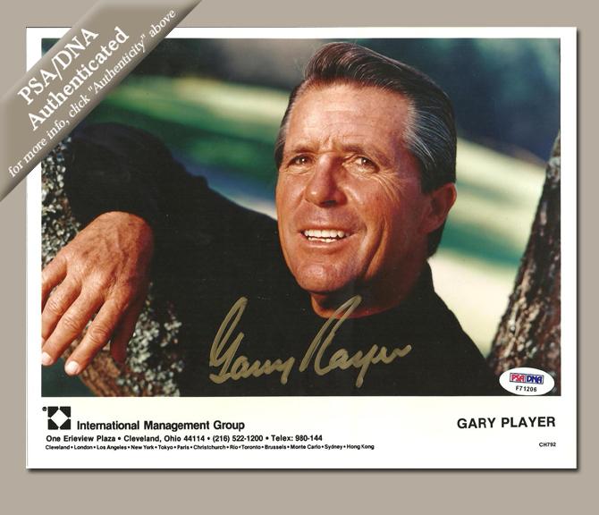 Gary Player Autograph