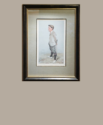 Art Antique Golf Prints